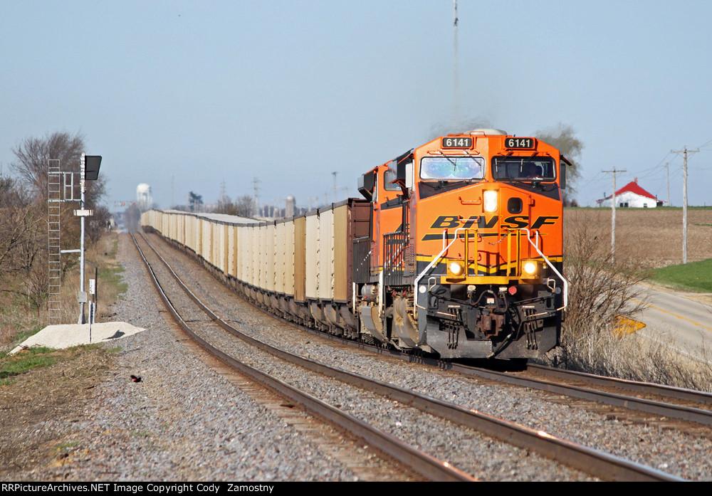BNSF 6141 East