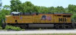 UP 7826 leading Q180 with Tropicana and Double Stack Intermodal