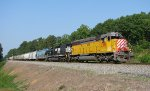 CITX 2788 SD45 carbody leading NS P37 southbound