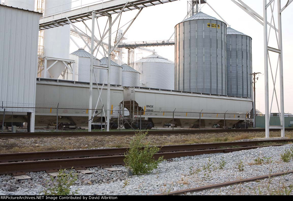 Next in line at George's Feedmill