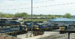 CSX Albany Division Selkirk Yard- Locomotive Servicing Area