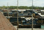 CSX Albany Division Selkirk Yard Servicing Area