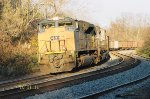 CSX 4842 and 4550