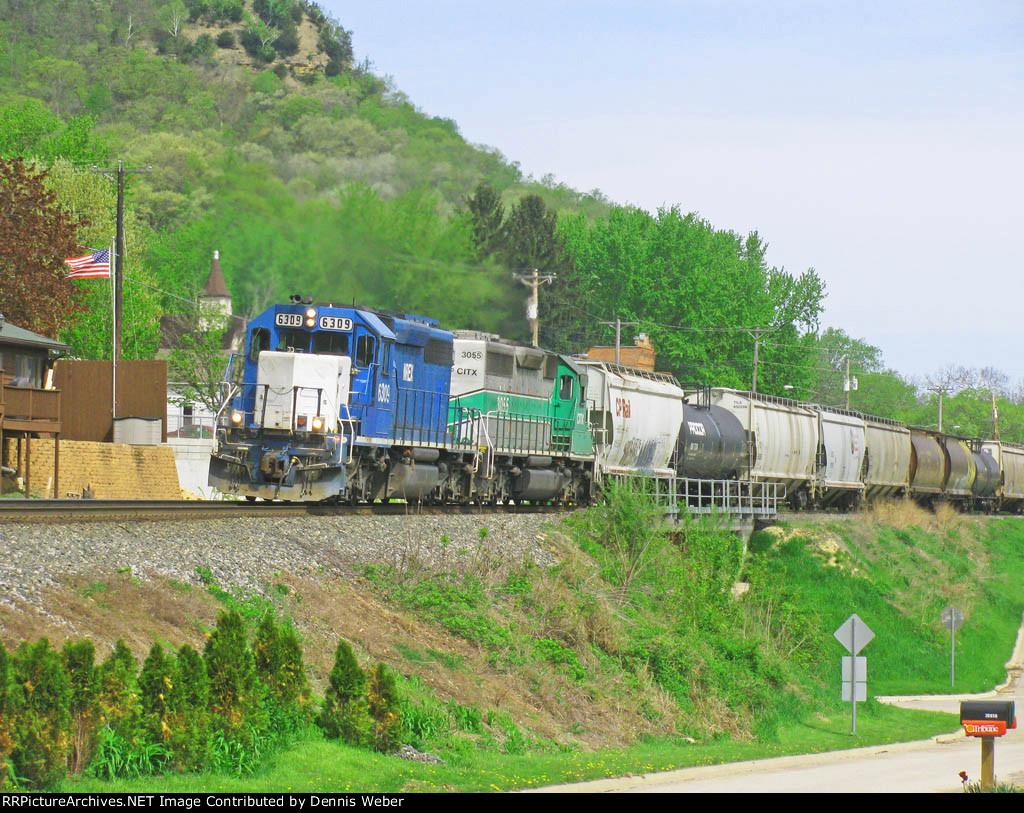 NREX 6309,  CP's   River  Sub.