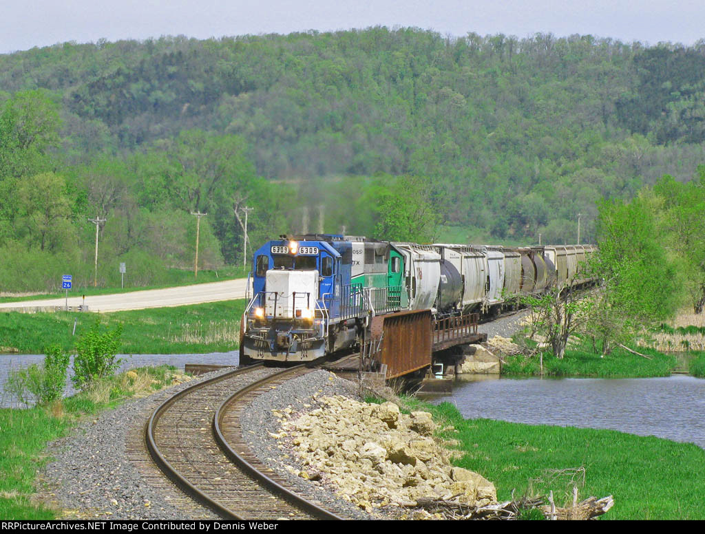 NREX  6309,  ICE's   Marquette   Sub.