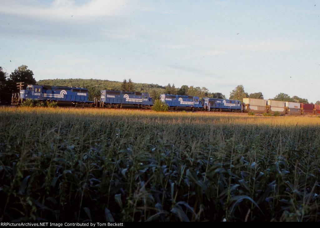 Stacks in the corn
