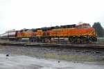 BNSF 7428 & 4471 in the port of Vancouver