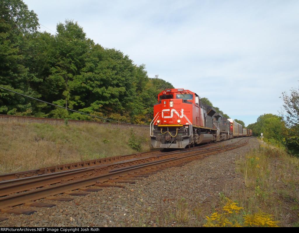 CN 8957, BCOL 4650 & CN 5713