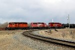 CP 5920, 5841 & 6608 build their train in CP's Scotford Yard
