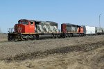 CN 5293 & 5356 leave CN's Scotford Yard for the Fort Saskatchewan Industrial Lead