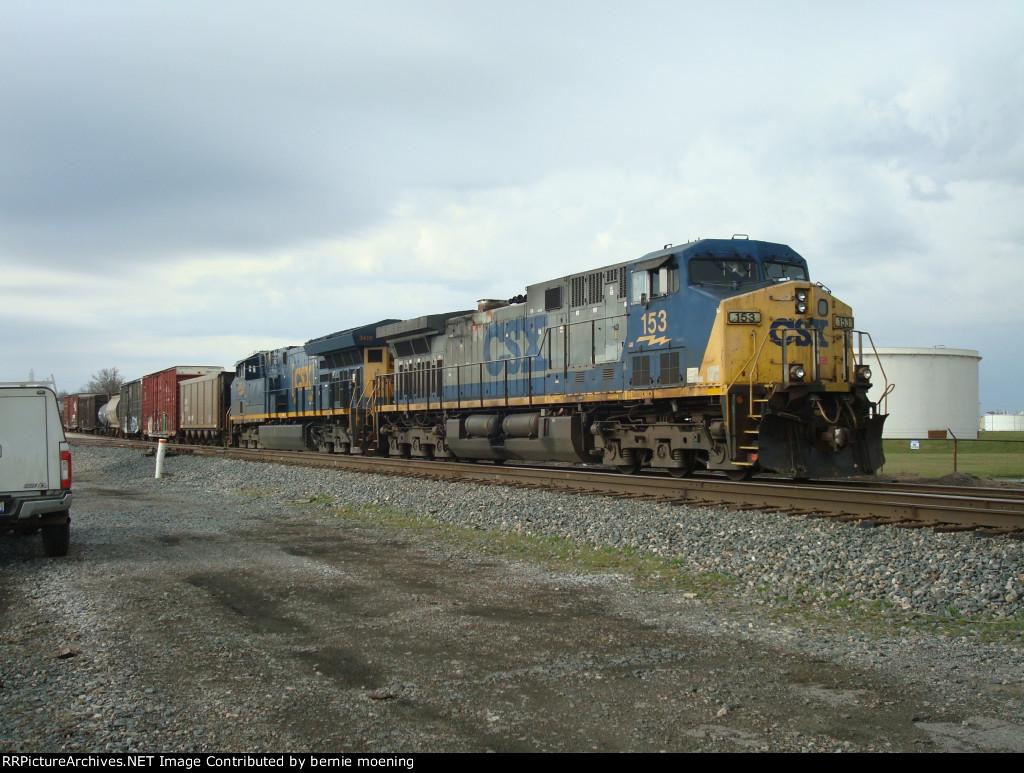 CSX 153 & 3410