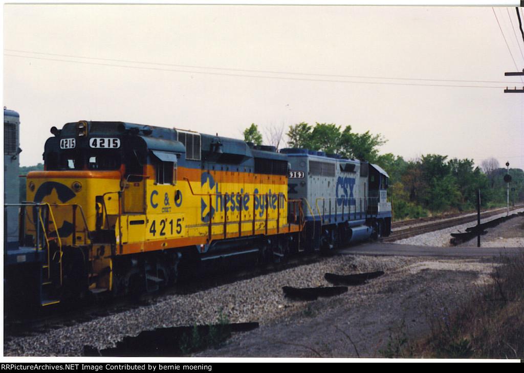 CSX 6363, CSX 4215