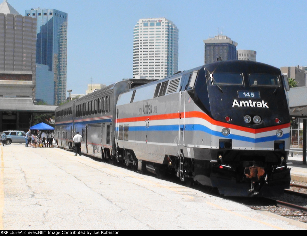 Amtrak P42DC #145