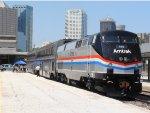 Amtrak P42DC #145