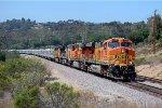BNSF 7732 in San Diego CA
