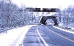269 snowy bridge scene