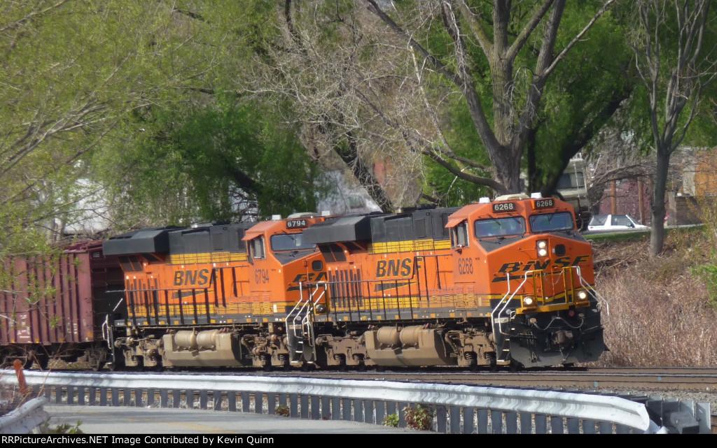 BNSF 6268 & 6794