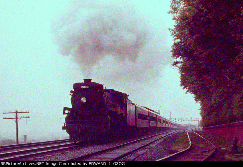 CANADIAN PACIFIC HUDSON ON TRAIN 246