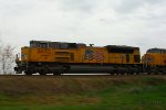 Northbound UP Intermodal Train