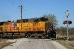 Eastbound UP Loaded Grain Train