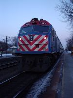 Metra 191 at Fairview