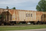 CSX covered hopper #245498