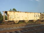 CSX covered hopper #223117, built as Atlantic Coast Line #122147,