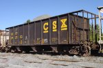 "CSXT hopper #292503 with a load from Junction City Mining's Heath Quarry, with a ""Home Bad Order"" stencil from Boyles Yard dated February 2005,"