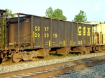 CSXT #292918, built March 1979 with 2197 cubic feet of loading area,