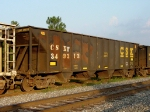 CSXT #349313, built April 1980 with 3350 cubic feet of loading area,