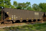 CSXT 433657, empty woodchip hopper awaiting placement at Lee Timber,