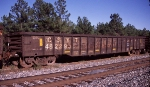 CSXT 482293, rostered as an Bulkhead End Equipped Gondola,