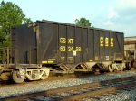 CSXT 632458, formerly in phosphate service has now been assigned to aggregate service,