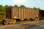 CSXT 290792, used in aggregate service and with a total loaded capacity of 286,000 pounds,