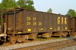 CSXT 292630, a 143 ton total loaded weight capacity car,