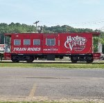 Hocking Valley Scenic Railway Caboose