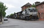 NS 630 with new engines EMD SD70ACe NS 1009 NS 1020