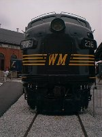 Western Maryland #236 Front