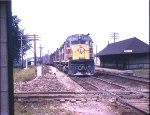 ERIE LACKAWANNA 2408 C-424 GRIFFITH IN 8-66