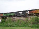 NS 7134 and BNSF 8100