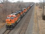 BNSF 5780 EAST