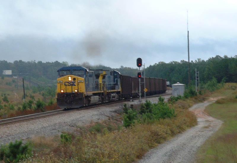 NB CSX Coal Train N170