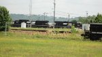NS 3351 and 2771 racing down the yard