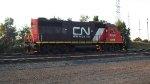 GTW 4904 idling in CN/BC yard