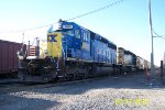 CSX 8803 with an identity complex
