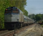 Amtrak Downeaster train 681 eastbound