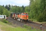 BNSF 4614 on eastbound