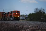 BNSF 6700 A Very, Very Brand New ES44C4 Leads A Z-Train through East Flagstaff on Main 1 at 35 MPH due to a track restriction speed.