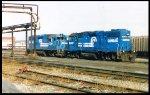 CR GP38-2 8049 & GP38 7739