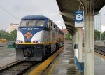 Capitol Corridor train waiting to head to the Bay Area